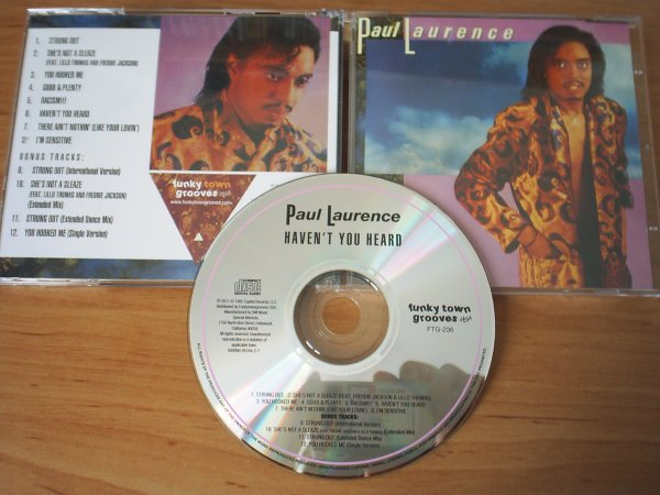 Paul Laurence 1985 Haven't You Heard