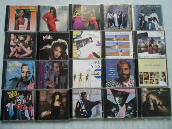 Sélection d'albums post 85 à bon prix en CD
