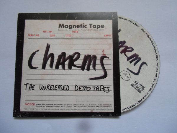 Charms 1980's The Unreleased Demo Tapes EXPANDED Papersleeve