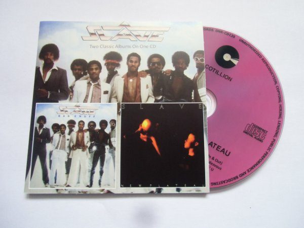 Slave 1983/1984 Bad Enuff / New Plateau 2 Classic Albums on 1 CD