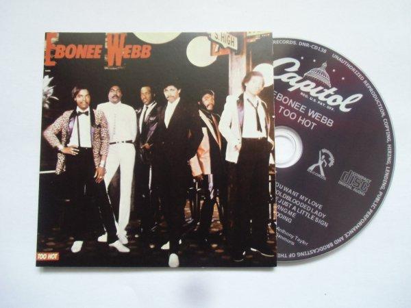 Ebonee Webb 1983 Too Hot (Papersleeve CD)