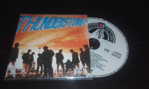 Thunderstorm 1981 Same CD Papersleeve