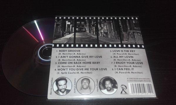 JP Rodgers Jr 1982 Good Taste In Love CD Papersleeve