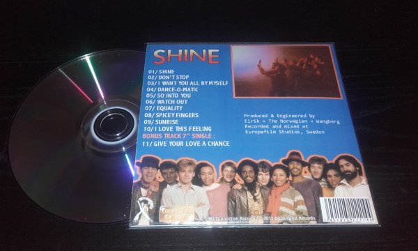 Shine 1983 Same CD Papersleeve EXPANDED
