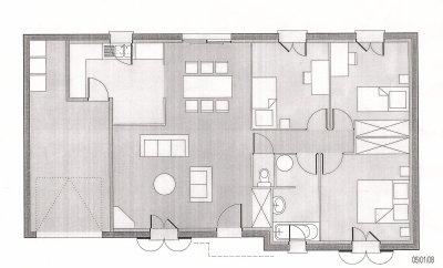 Nos plans maison maison ericlor giniecmoi for Plan comble amenageable