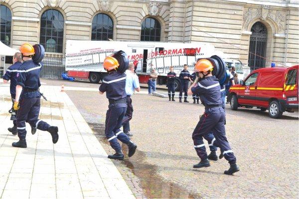 Journ�e Nationale des Sapeurs-Pompiers � Lille 2015