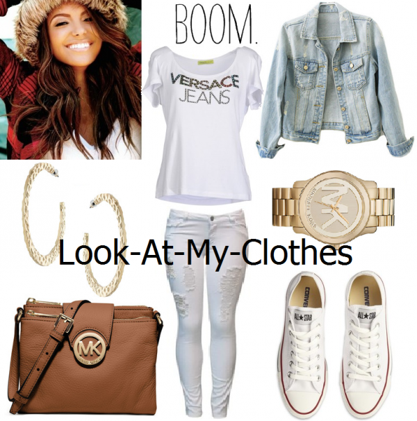 VERSACE, micheal kors, converse, Hairstyles, Tenue de ville ♥, Watch ♥