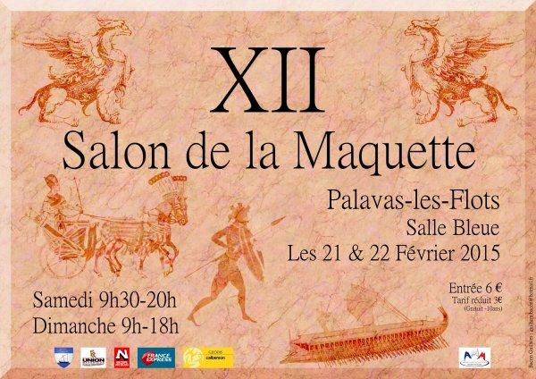 SALON DE PALAVAS LE 21 ET 22 FÉVRIER 2015