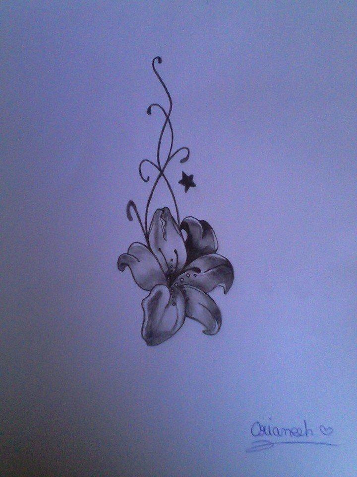 la fleur de lys les dessins d 39 orianeeh. Black Bedroom Furniture Sets. Home Design Ideas
