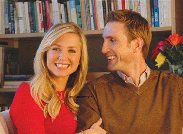 Jessica capshaw et son mari Christopher Gavigan - Jessica ...