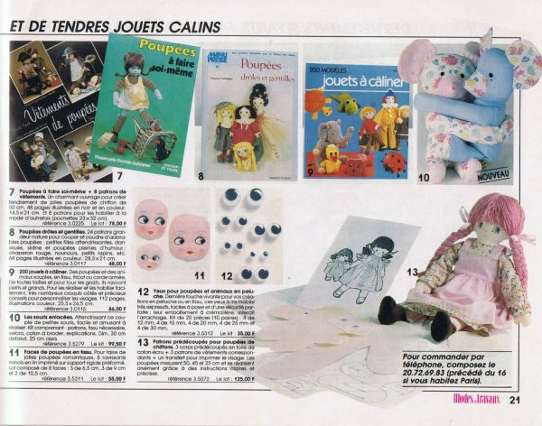 Catalogue M&T, printemps-�t� 1987