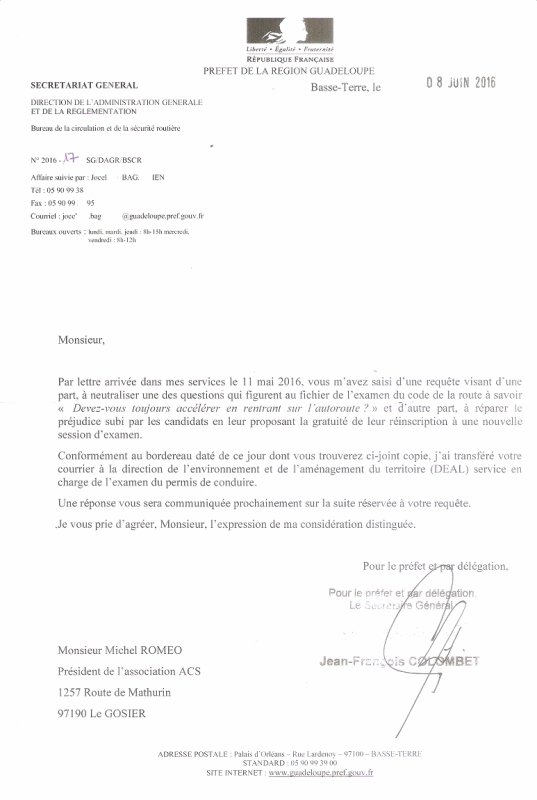INTERVENTION AUPR�S DES AUTORIT�S !!!