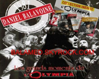 (BALAVOINE SUR SCENE / OLYMPIA)  - (COKTAIL FM ) et  ( BALAMED FETE CES 2 ANS )