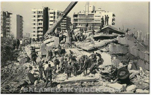 L'AFFAIRE DU LIBAN  (L'attentat du 23 Octobre 1983) Partie 3/5