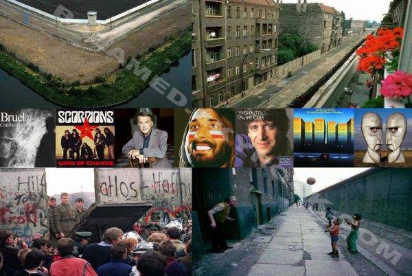Le Mur de Berlin en chansons
