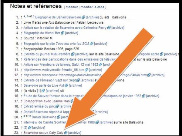 Une vidéo de BALAMED sur Wikipedia