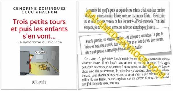 Coco Khalfon évoque Jérémie et Joana sur sont livre sortie en Avril 2014. Disponible en librairie.