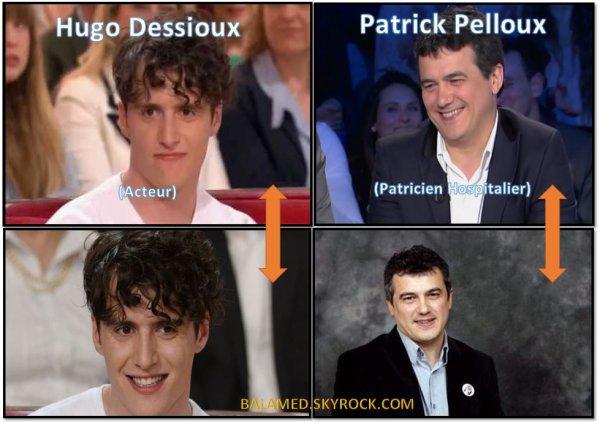 Dessioux et Pelloux Ressemblances parfaite ou imparfaite au Chanteur ?