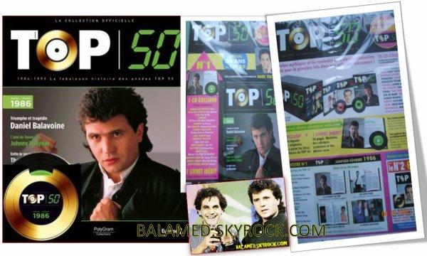 Les chansons de la collection Top 50 vendue en points presse avec Balavoine à l'honneur pour le Numéro 1, sortie le 1 Janvier 2015