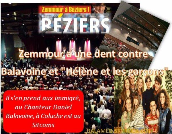 Zemmour, L'anti Balavoine (Partie 2/2)