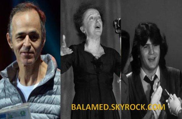 Goldman et Piaf, chanteurs préférés des Français. Balavoine 12eme