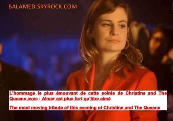 L'hommage le plus émouvant de cette soirée de Christine and The Queens