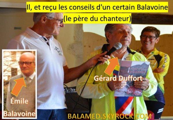 Il, à reçu les conseils d'un certain Balavoine (le père du chanteur)