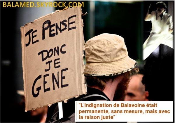 """""""L'indignation de Balavoine était permanente, sans mesure, mais avec la raison juste"""" (Didier Varrod)"""