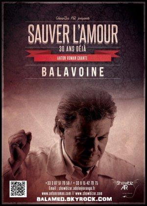 Concert Hommage Daniel Balavoine à Créhange le 18 novembre 2016