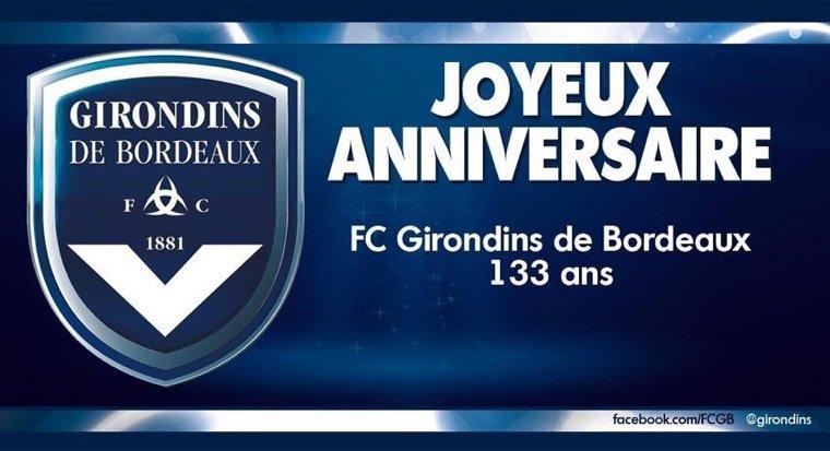 Le FC GIRONDINS DE BORDEAUX A 133 ANS
