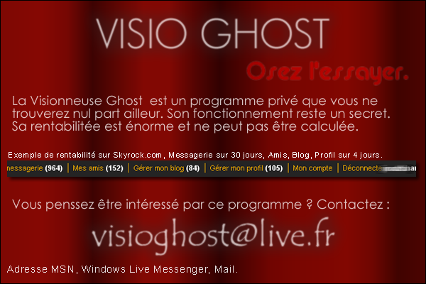 Visio Ghost
