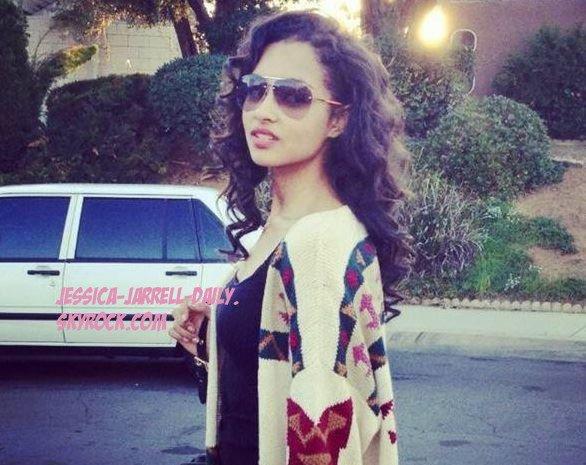 @JessicaJarrell is so gorgeous ! gosh