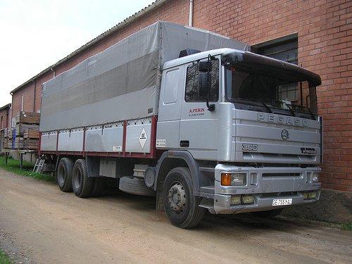 les camions espagnol