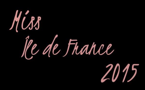 Miss Île de France 2015