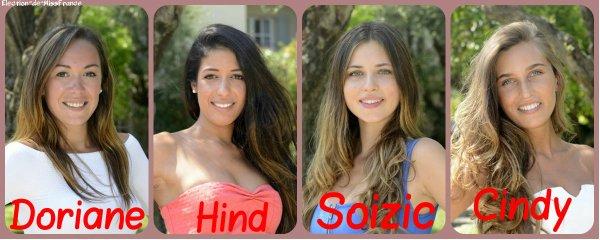 Candidates Miss Côte d'Azur 2015