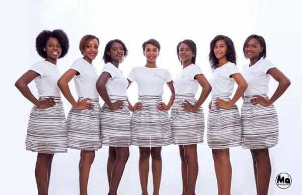 Candidates Miss Mayotte 2015