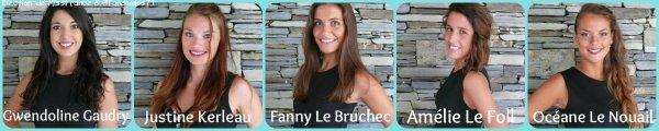 Candidates Miss Bretagne 2016