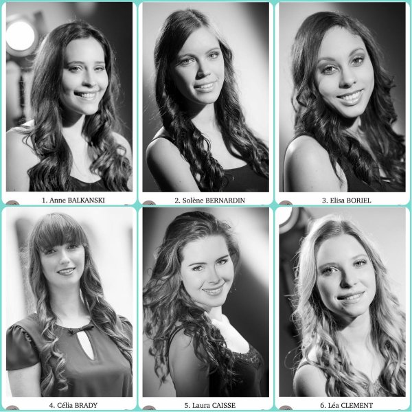 Candidates Miss Franche-Comt� 2016