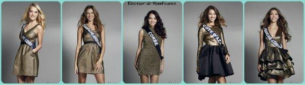 Photos officielles des candidates