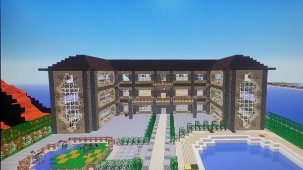 Articles de remialex1 yt tagg s minecraft construction de fou r - Construction maison minecraft ...