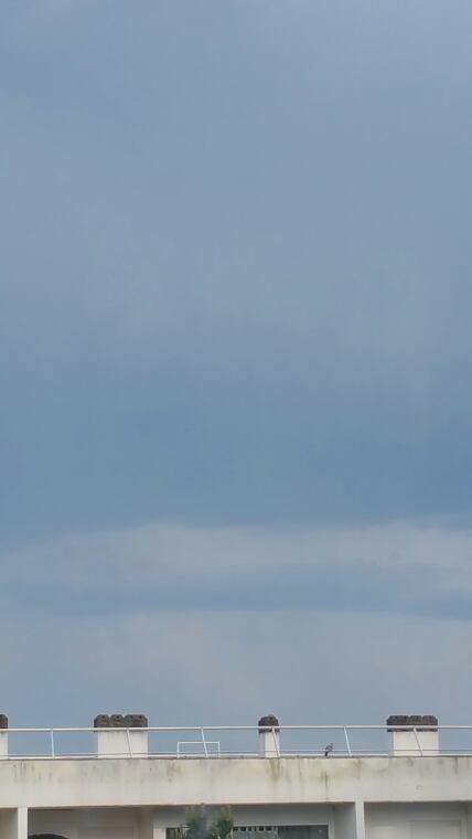 Apr�s le beau temps vient l'orage ; -)