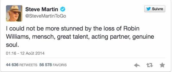 Robin Williams a perdu la vie
