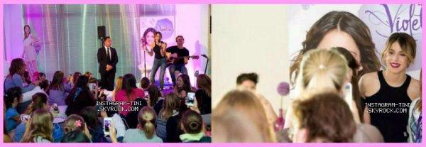 • De nouvelles photos promos de Violetta saison 3.