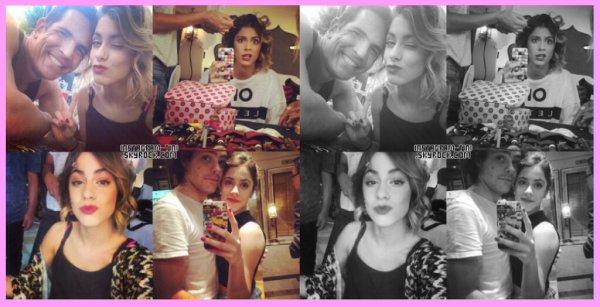 • PHOTOS ET VIDÉOS PERSONNELLES de Tini (Twitter, Facebook et Instagram)