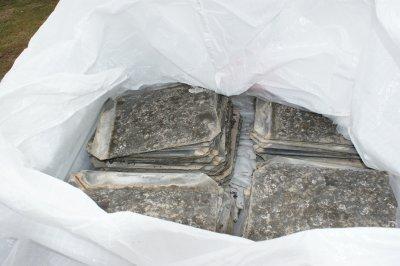 Ranger les ardoises les evolutions de notre longere - Ardoise fibro ciment amiante ...