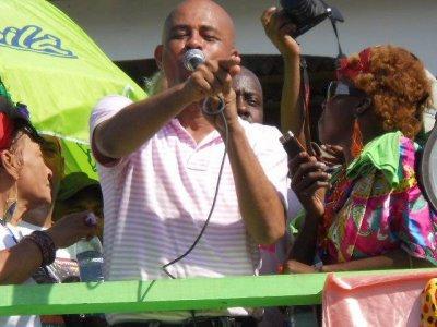 Jacmel – Carnaval national : Michel Martelly profite le carnaval