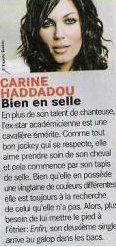 Carine Haddadou: Sa 2e Passion l'Equitation! (+ Mise � Jour 16/04)