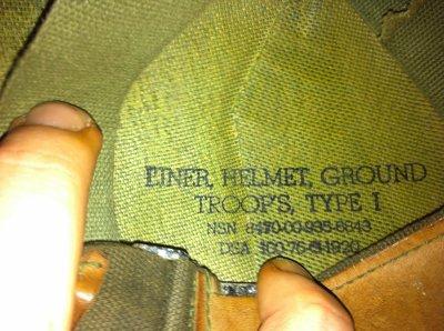 casque et liner origine vietnam (je pence)