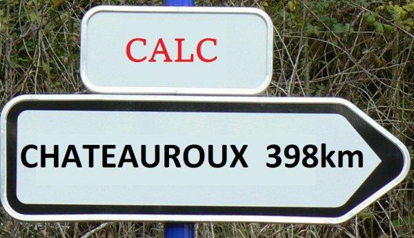 Calc Chateauroux du 16 juillet