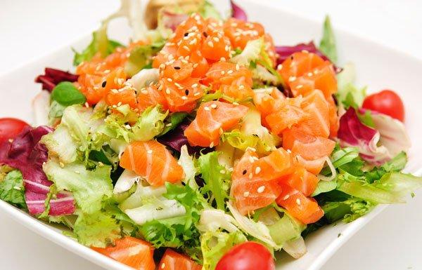 salade de saumon sauce voldka blog de recettes katy. Black Bedroom Furniture Sets. Home Design Ideas